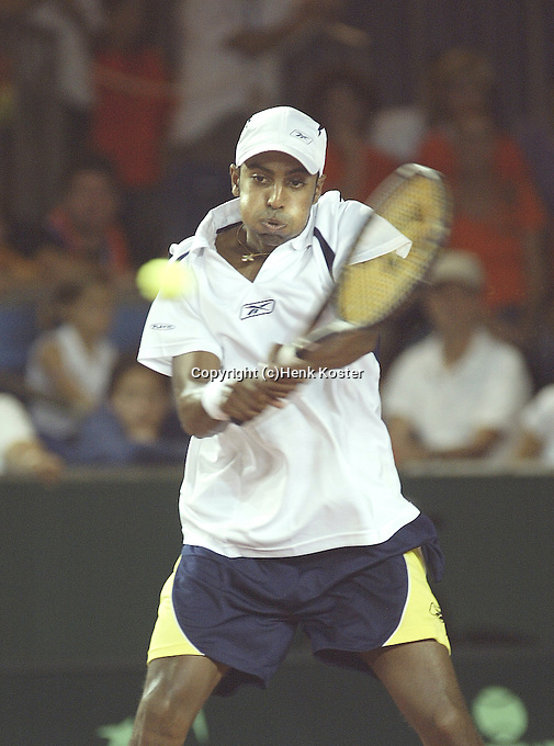20030921, Zwolle, Davis Cup, NL-India, Prakash Amritraj