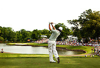 Rory McIlroy of Northern Ireland during the final round of the Quail Hollow Championship at Quail Hollow Country Club on May 2, 2010 in Charlotte, North Carolina.  The event, formerly called the Wachovia Championship, is a top event on the PGA Tour, attracting such popular golf icons as Tiger Woods, Vijay Singh and Bubba Watson. Photo from the final round in the Quail Hollow Championship golf tournament at the Quail Hollow Club in Charlotte, N.C., Sunday , May 03, 2009..