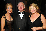 From left: Sylvia Barnes, Jim Trimble and Bet Hunter at the Museum of Fine Arts Houston 's 2010 Grand Gala Ball  Friday Oct. 01, 2010. (Dave Rossman/For the Chronicle)