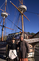 "Jamestown Virginia called the ""Susan Constant"" from 1605 bringing first settlers to America"