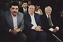 Irak Kurdistan 2002<br /> Nechirvan  Barzani, premier ministre du PDK  et Roj Shawess, président du Parlement kurde<br /> <br /> Kurdistan Irak 2002<br /> Nechirvan Barzani, Prime minister of KDP and Roj Shawess, president of Kurdish Parliament