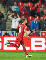 Vladimir DARIDA, CZ celebrates scoring<br /> Czech Republic - Germany 1-2, <br /> group C, FIFA World Championships Qualifiers 01.09.2017 in Prag, Czech Republic.<br /> <br />  *** Local Caption *** © pixathlon +++ tel. +49 - (040) - 22 63 02 60 - mail: info@pixathlon.de