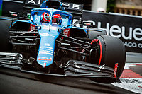 22nd May 2021; Principality of Monaco; F1 Grand Prix of Monaco, qualifying sessions;  OCON Esteban (fra), Alpine F1 A521