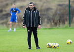 St Johnstone Training……26.08.20<br />Manager Callum Davidson pictured during training at McDiarmid Park ahead of Saturday's game against St Mirren.<br />Picture by Graeme Hart.<br />Copyright Perthshire Picture Agency<br />Tel: 01738 623350  Mobile: 07990 594431