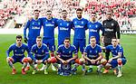 26.02.2020 SC Braga v Rangers: Rangers team
