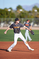 Joshua Mullineaux Idell (50), from Novato, California, while playing for the Giants during the Under Armour Baseball Factory Recruiting Classic at Gene Autry Park on December 30, 2017 in Mesa, Arizona. (Zachary Lucy/Four Seam Images)