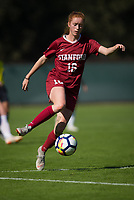 STANFORD, CA - October 21, 2018: Beattie Goad at Laird Q. Cagan Stadium. No. 1 Stanford Cardinal defeated No. 15 Colorado Buffaloes 7-0 on Senior Day.