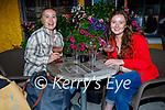 Enjoying the evening in Brogue Inn on Friday, l to r: Ciara McGillicuddy and Eireann Blunt, from Glenbeigh.