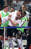 19.05.2018, Olympiastadium, Berlin, GER, DFB-Pokal, Finale FC Bayern Muenchen vs Eintracht Frankfurt<br /> , <br />Ante Rebic (Frankfurt) celebration   goal  2:1 *** Local Caption *** © pixathlon<br /> Contact: +49-40-22 63 02 60 , info@pixathlon.de