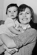 Paris, France . Margareta Haim, the mother of Mathilda May.