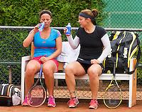 August 17, 2014, Netherlands, Raalte, TV Ramele, Tennis, National Championships, NRTK, Womans Final :  Kim Kilsdonk/Nicolette van Uitert (NED)<br /> Photo: Tennisimages/Henk Koster