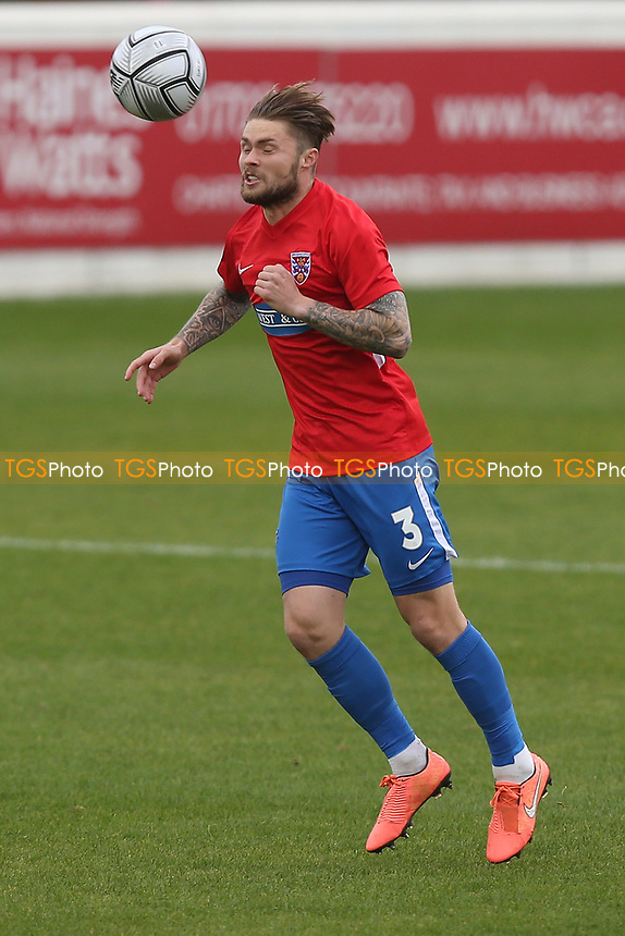 Elliot Johnson of Dagenham and Redbridge during Dagenham & Redbridge vs Yeovil Town, Vanarama National League Football at the Chigwell Construction Stadium on 17th October 2020