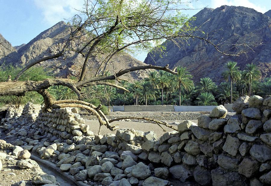 Omani Wall, Near Muscat, Oman.
