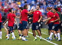 Will Bruin, Alan Gordon.  The United States defeated El Salvador, 5-1, during the quarterfinals of the CONCACAF Gold Cup at M&T Bank Stadium in Baltimore, MD.