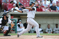 June 19, 2007:  Eduardo Perez of the Great Lakes Loons at Effstrom Stadium in Geneva, IL for the 2007 MWL All Star game.  Photo by:  Chris Proctor/Four Seam Images