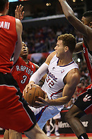 12/09/12 Los Angeles, CA: Los Angeles Clippers power forward Blake Griffin #32 during an NBA game between the Los Angeles Clippers and the Toronto Raptors played at Staples Center. The Clippers defeated the Raptors 102-83.