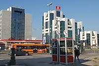 - Milan, office buildings in the Lorenteggio district....- Milano, palazzi per uffici nel quartiere Lorenteggio....