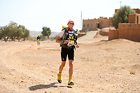 5th October 2021; Kourci Dial Zaid to Jebel El Mraier ; Abram VAN VEEN (ned) Marathon des Sables, stage 3 of  a six-day, 251 km ultramarathon, which is approximately the distance of six regular marathons. The longest single stage is 91 km long. This multiday race is held every year in southern Morocco, in the Sahara Desert.