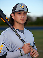 Lakewood Spartans shortstop Bo Bichette (19) poses for a photo after a game against the Boca Ciega Pirates at Boca Ciega High School on March 2, 2016 in St. Petersburg, Florida.  Boca Ciega defeated Lakewood 2-1.  (Mike Janes/Four Seam Images)