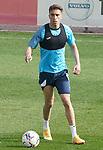Getafe CF's Sofian Chakla during training session. February 17, 2021.(ALTERPHOTOS/Acero)