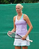 13-08-13, Netherlands, Raalte,  TV Ramele, Tennis, NRTK 2013, National Ranking Tennis Champ,  Charlotte van der Meij<br /> <br /> Photo: Henk Koster