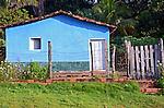 Casa em area rural em Rosario Oeste. Mato Grosso. 2015. Foto de Amtonio Siqueira.