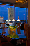 Richmond Condo Dining Room at Dusk