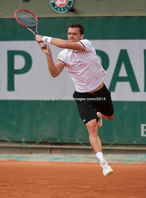 France, Paris, 28.05.2014. Tennis, French Open, Roland Garros, Tobias Kamke (GER)<br /> Photo:Tennisimages/Henk Koster