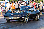 Characters from the Discovery Channel's hit TV series, Street Outlaws, in action during the first annual Outlaw Armageddon drag race at the Thunder Valley Raceway drag strip in Noble, OK.