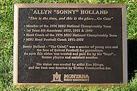 Sonny Holland Bronze Statue setup... (2016)