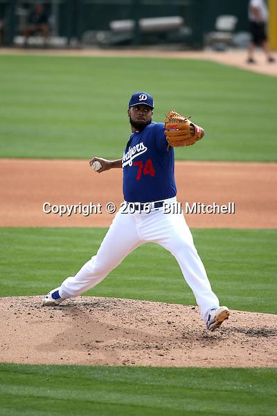 Kenley Jansen - Los Angeles Dodgers 2016 spring training (Bill Mitchell)