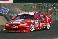 1997 British Touring Car Championship. #17 Lee Brookes (GBR). Brookes Motorsport. Peugeot 406.