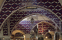 Europe/Turquie/Istanbul : Le grand bazar, détail de la toiture