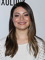 """LOS ANGELES, CA, USA - APRIL 17: Actress Miranda Cosgrove arrives at the Drake Bell """"Ready Steady Go!"""" Album Release Party held at Mixology101 & Planet Dailies on April 17, 2014 in Los Angeles, California, United States. (Photo by Xavier Collin/Celebrity Monitor)"""