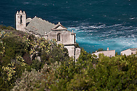 Europe/France/Corse/2B/Haute-Corse/Cap Corse/Pino: Marine de Scalo, Couvent Saint François