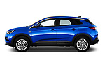 Car driver side profile view of a 2018 Opel Grandland X Innovation 5 Door SUV
