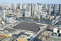 The vacant lot of former Tsukiji Fish Market