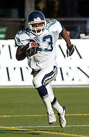 Bashir Levingston Toronto Argonauts 2003. Photo Scott Grant