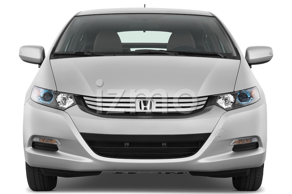 Straight front view of a 2010 Honda Insight