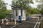 Dulwich Village, South London SE21 London UK 2008. Toll road house, automatic toll.