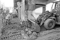 - Piemonte, Novembre 1994, l'alluvione del fiume Tanaro nella città di Alessandria<br /> <br /> - Piedmont, November 1994, the flood of the Tanaro River in the city of Alessandria