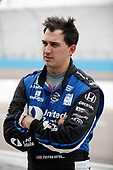 2017 IndyCar Media Day - Track Action<br /> Phoenix Raceway, Arizona, USA<br /> Saturday 11 February 2017<br /> Graham Rahal<br /> World Copyright: Michael L. Levitt/LAT Images<br /> ref: Digital Image _01I6179