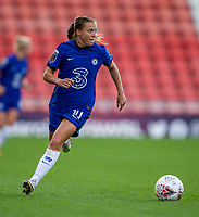 6th September 2020; Leigh Sports Village, Lancashire, England; Women's English Super League, Manchester United Women versus Chelsea Women; Fran Kirby of Chelsea Women