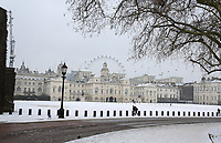 Snow in London as Beast from the East weather continues at City of London, London, England on 1 March 2018. Photo by Andy Rowland.