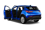Car images close up view of a 2018 Opel Grandland X Innovation 5 Door SUV doors