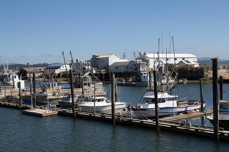 Oyster Dredges, Port of Peninsula, Nahcotta, Long Beach Peninsula, Willapa Bay, Pacific County, Washington Coast, Washington State, Pacific Northwest, United States, oyster fishery, Washington Coast,