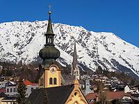 Johanneskirche und Pfarrkirche Mariä Himmelfahrt in Imst, Tirol, Österreich, Europa<br /> Church St. John and parrish church of the Assumption of Mary, Imst, Tyrol, Austria, Europe
