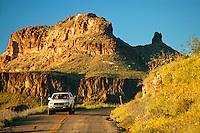 Route 66, near Oatman, Arizona.