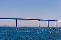 San Diego-Coronado Bridge, San Diego, California, USA, Pacific Ocean