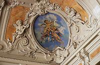 Europe/France/Auvergne/03/Allier/Vichy: Casino, Salle Napoléon III, détail